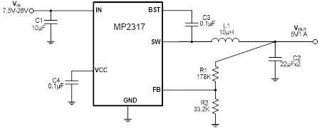 Figure 1: Typical Application Circuit
