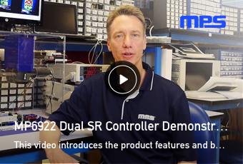 MP6922 Dual SR Controller
