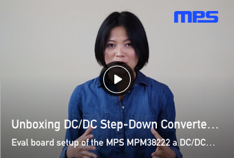 Unboxing DC DC Step Down Converter
