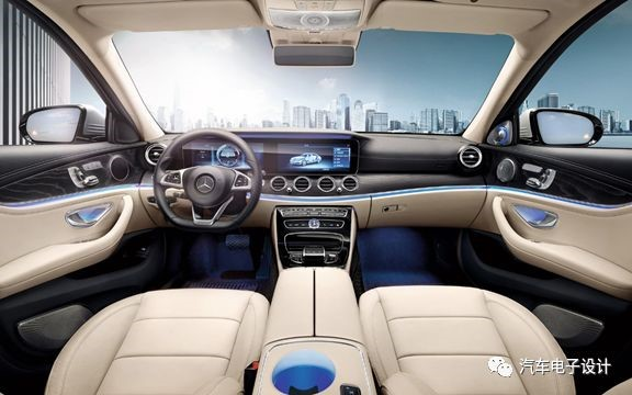 Figure 3: Mercedes Benz E-Class Interior
