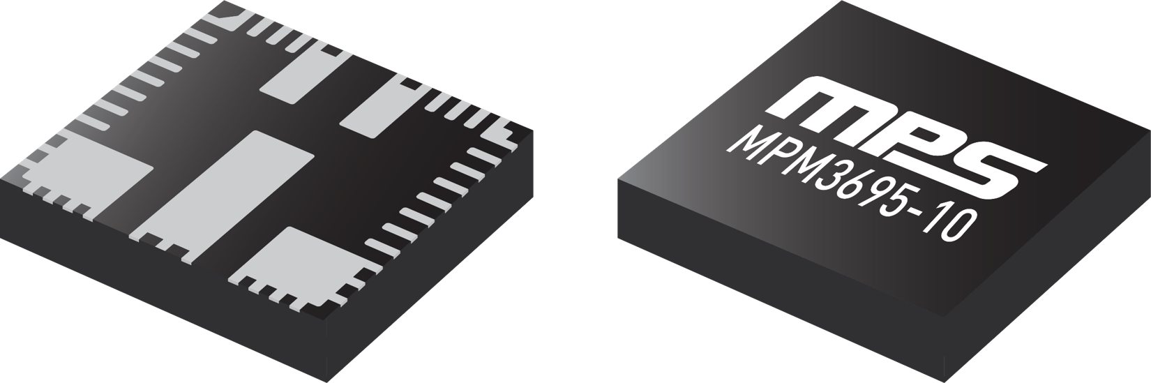 Figure 3: MPM3695-10, Ultra-Thin 10A Power Module