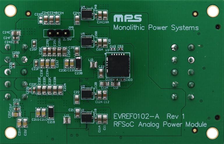 Figure 8: EVRF0102 Ultra-Low Noise Power Supply Module