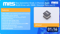 6-Channel Boost WLED Driver with Wide Dimming Ratio