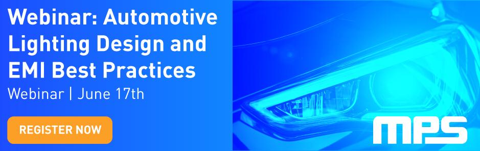 Automotive Lighting Webinar