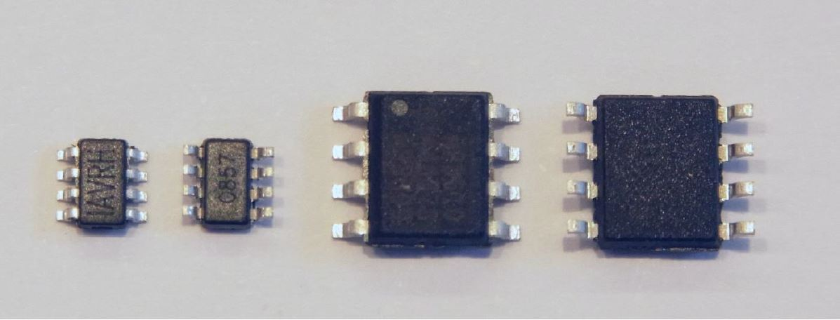 Figure 6: SOT 23 and SOIC Packages