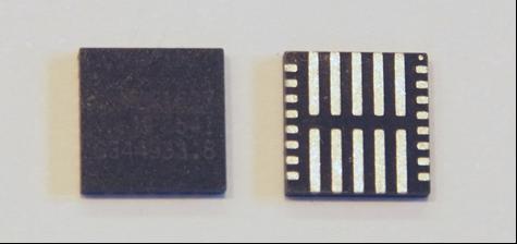 Figure 5: FC-QFN Package Showing Underside Thermal Pads