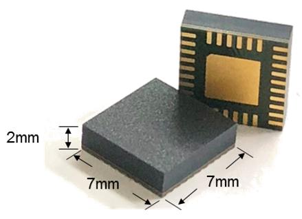 Figure 7: Compact, Four DC/DC Module Package