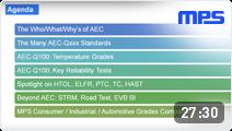 Automotive AEC-Q100 Webinar
